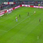 RB Leipzig [1]-0 Arminia Bielefeld - Angelino 29'