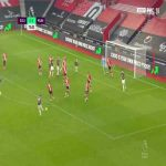 Southampton 2 - [2] Manchester United - Edinson Cavani 74'