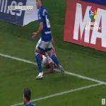 Real Oviedo 0-1 Almería - Jose Corpas Serna penalty 27'