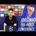 "[Jorginho] ""I love Giroud- As a Friend"" - Seville v Chelsea press conference - UCL"