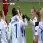 Þorvaldsdóttir great goal (Hungary 0-[1] Iceland)