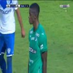 Andres Colorado (Deportivo Cali) straight red card against Velez Sarsfield 79'