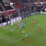 AZ Alkmaar [1]-1 Napoli - Bruno Martins Indi 54'