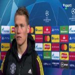 McTominay's reaction when asked if he thinks the PSG players fall too easily
