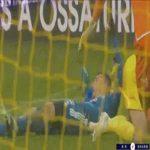 Nantes 0-3 Strasbourg - Ludovic Ajorque penalty 78'