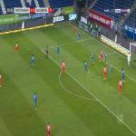 Hoffenheim 1-[1] Augsburg - Daniel Caligiuri 31'