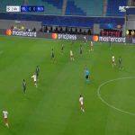 RB Leipzig 1-0 Manchester Utd - Angelino 2'