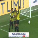 Watford 1-0 Rotherham - Christian Kabasele 4'