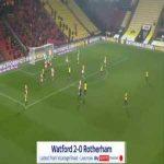 Watford 2-0 Rotherham - Troy Deeney 15'