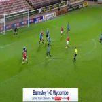 Barnsley 1-0 Wycombe - Callum Styles 31'