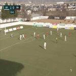 Iwate Grulla Morioka 1-(1) Roasso Kumamoto - Kaito Taniguchi nice volley goal
