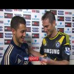 Captain Frank Lampard on Eden Hazard after his Chelsea debut (2012/13)