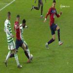 Celtic [2]-1 Lille: Callum McGregor 28'