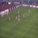 CSKA Sofia 1-[1] Roma - Tommaso Milanese 22'