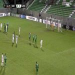 Plamen Iliev Ivanov (Ludogorets) penalty save against LASK 45'