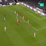 Tottenham [1] - 0 Antwerp - Carlos Vinicius 56'