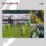 Wolfsburg 0-1 Frankfurt - Bas Dost penalty 62'