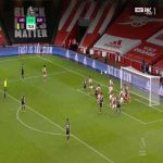 Arsenal 0-1 Burnley - Pierre-Emerick Aubameyang OG 73'
