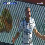 Cagliari 1-[2] Inter - Danilo D'Ambrosio 84'