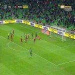 Krasnodar 5-0 Lokomotiv Moscow - Marcus Berg 84'