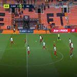 Lorient 1-0 Nîmes - Quentin Boisgard 2'