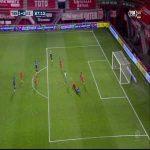 Red Card Jayden Oosterwolde 89' ([FC Twente]-AZ Alkmaar)