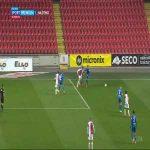 Slavia Praha 2-0 Slovan Liberec - Peter Olayinka 45+1'