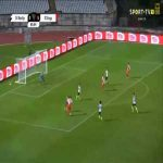 Montijo 0-6 Braga - Wenderson Galeno 87'
