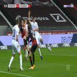 Frankfurt [1]-1 Monchengladbach - Andre Silva penalty 21'