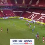 Nottingham Forest 1-0 Sheffield Wednesday - Yuri Ribeiro 4'