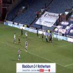 Blackburn [2]-1 Rotherham - Adam Armstrong 90'+8'