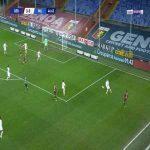 Genoa 1-0 Milan - Mattia Destro 48'