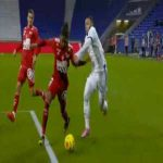 Lyon [1]-1 Brest - Memphis Depay penalty 69'