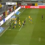 Paderborn 1-0 Braunschweig - Dennis Srbeny penalty 8'