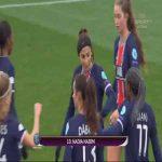 PSG 1-0 Górnik Łęczna - Nadia Nadim 21' | agg. 3-0 (Women's Champions League)