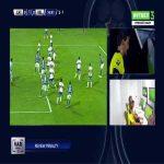 Universidad Católica 0-1 Velez Sarsfield [2-2 on agg.] - Cristian Tarragona penalty 17'