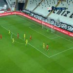Besiktas 2-0 Tarsus - Cyle Larin 39'