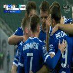 Legia Warszawa 2-[2] Stal Mielec - Maciej Domański PK 43' (Polish Ekstraklasa)