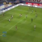 Nacional 2-[4] River Plate [agg. 2-6] - Rafael Santos Borré 67'