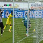Ciaran Clark (Newcastle) handball against Fulham 90+5'