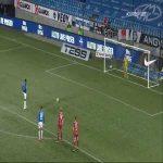 Molde 1-0 Sarpsborg 08 - Leke James PK 26'