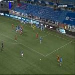 Molde 2-0 Sarpsborg 08 - Mattias Moström 27'