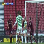Celtic [2]-0 Hearts: Odsonne Edouard 29' (penalty)