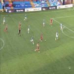 Kilmarnock 0-[1] Aberdeen: Ryan Hedges 52'