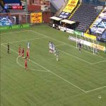 Kilmarnock 0-[2] Aberdeen: Sam Cosgrove 90'+6 (free kick)