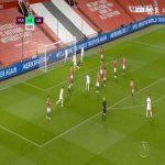 Manchester United 4 - [1] Leeds United - Liam Cooper 42'
