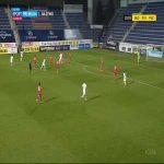 Slovácko 1-0 Viktoria Plzeň - Jan Kalabiška 11'