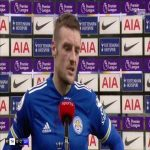 "Vardy: ""We knew we could let them bring the ball into the first third and press them on the half way line"" 