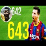 All of Messi's record 643 goals for Barcelona