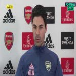 "Arteta: ""It's pretty incredible when you look at how we are where we are. Last year against Everton we had 25% chance to win and we won. Last weekend we had 67% chance of winning and 9% of losing and we lost. 3% against Burnley we lose, 7% against Spurs we lose."""